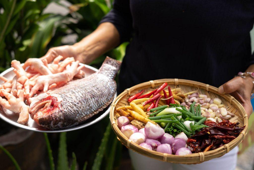 ขนมจีนน้ำปลาร้า