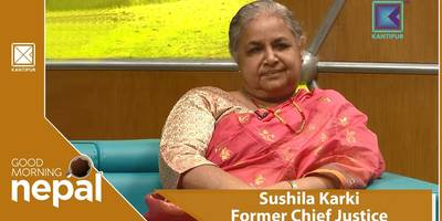 Sushila Karki | Ex. Chief Justice | Good Morning Nepal | 21 September 2018