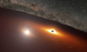 Precise Timing of A Black Hole Dance Captured by NASA's Spitzer Space Telescope