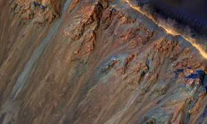 What is Causing Martian Landslide?