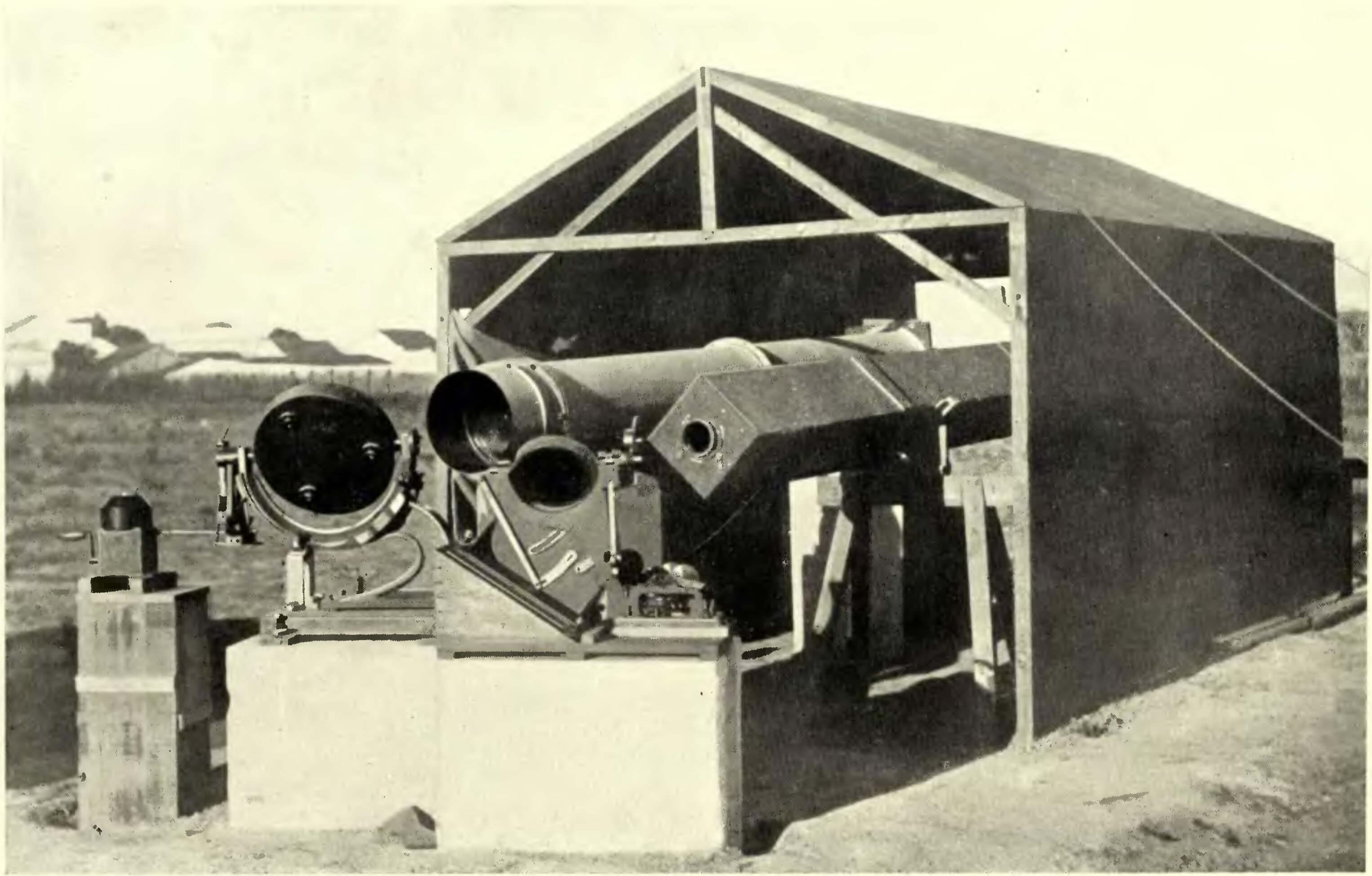 Image: Eclipse instruments at Sobral (1919)