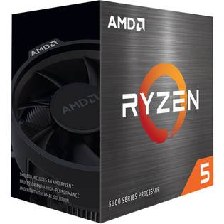 AMD Ryzen 5 5600X 3.7Ghz AMD 5000 series CPU with Wraith Stealth cooler