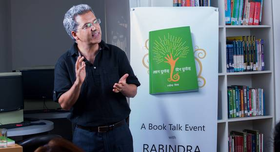 A Book Talk Event with Rabindra Mishra