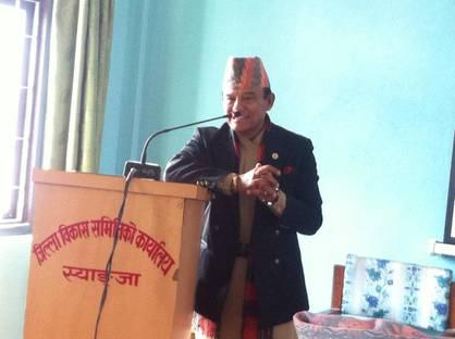 Interaction with Rookmangud Katawal - Syangja