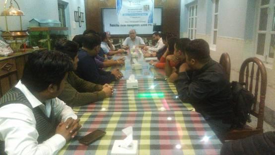 Sujeev Shakya's Arthat Arthatantra Book Talk at Biratnagar