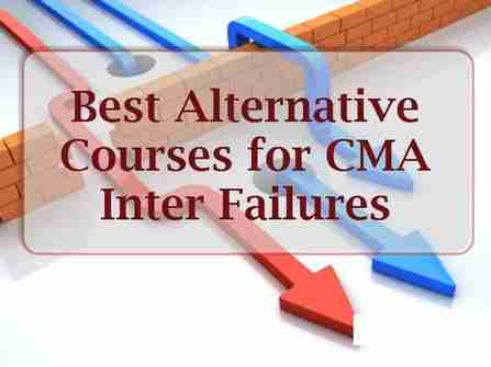 Best Alternative Courses for CMA INTER Failures