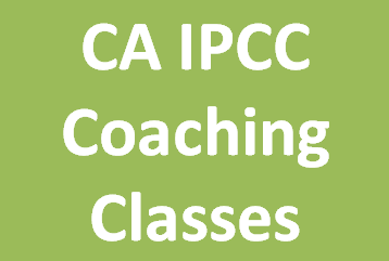 CA IPCC Coaching Classes
