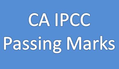 CA IPCC Passing Marks