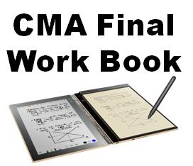 CMA Final Work Book