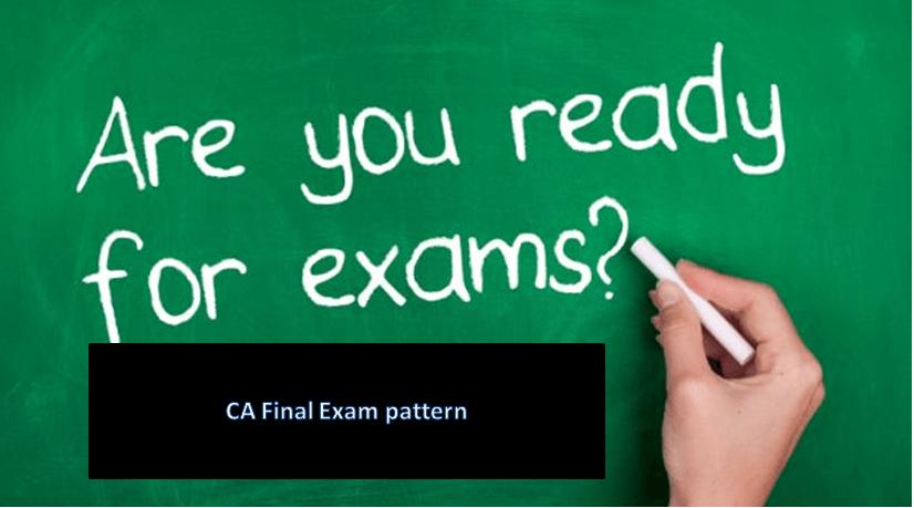 CA final exam pattern
