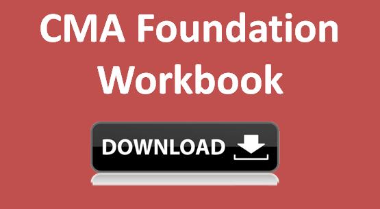 cma foundation workbook