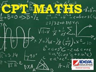 CPT   Quantitative Aptitude