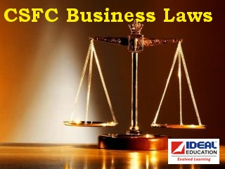 CS Foundation   Elements of Business Laws
