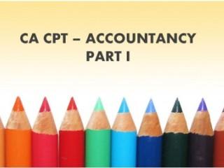 CA CPT Accountancy