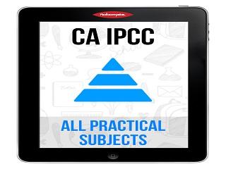 CA Intermediate | CA IPCC MAY 2015 ALL PRACTICALS