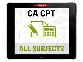 CA Foundation | CA CPT JUNE 16