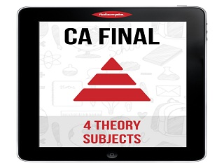 CA FINAL 4 THEORY SUBJECTS