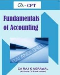 CA CPT Fundamentals of Accounting by CA Raj K Agrawal