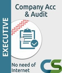 CS Executive Coaching Course Company Account and Audit
