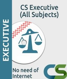 CS Executive complete video course of all subjects