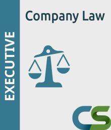 CS Executive Coaching Course Company Law