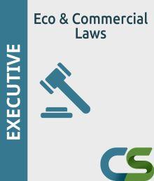 CS Executive Economics Commercial Laws
