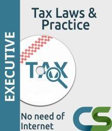 CS Executive Tax Laws Practice