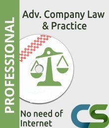 Cs Professional Coaching course  Advanced Company Law Practice