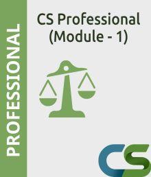 CS Professional Module 1 Complete coaching