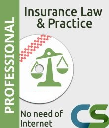 CS Professional Insurance Law and Practice