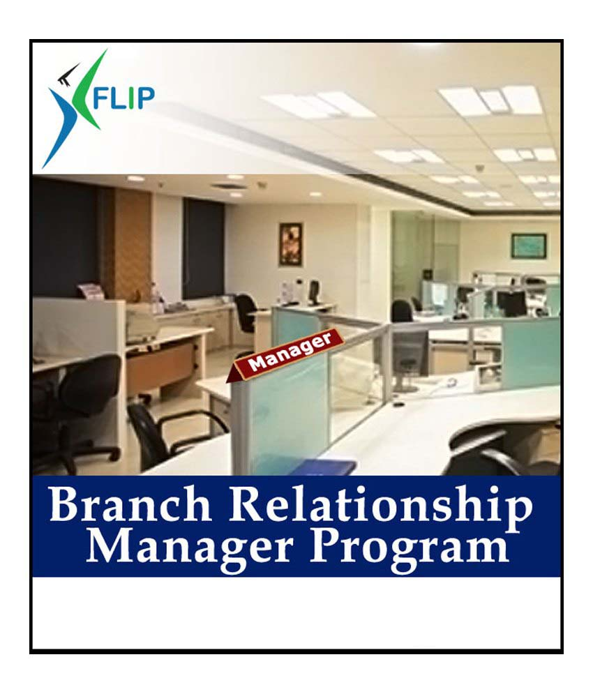 Industry Endorsed CertificateBranch Relationship Manager Online Course