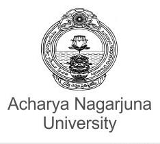 MBA Hospital Administration    Acharya Nagarjuna University