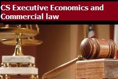 CS Executive Economics and Commercial law L K Soni