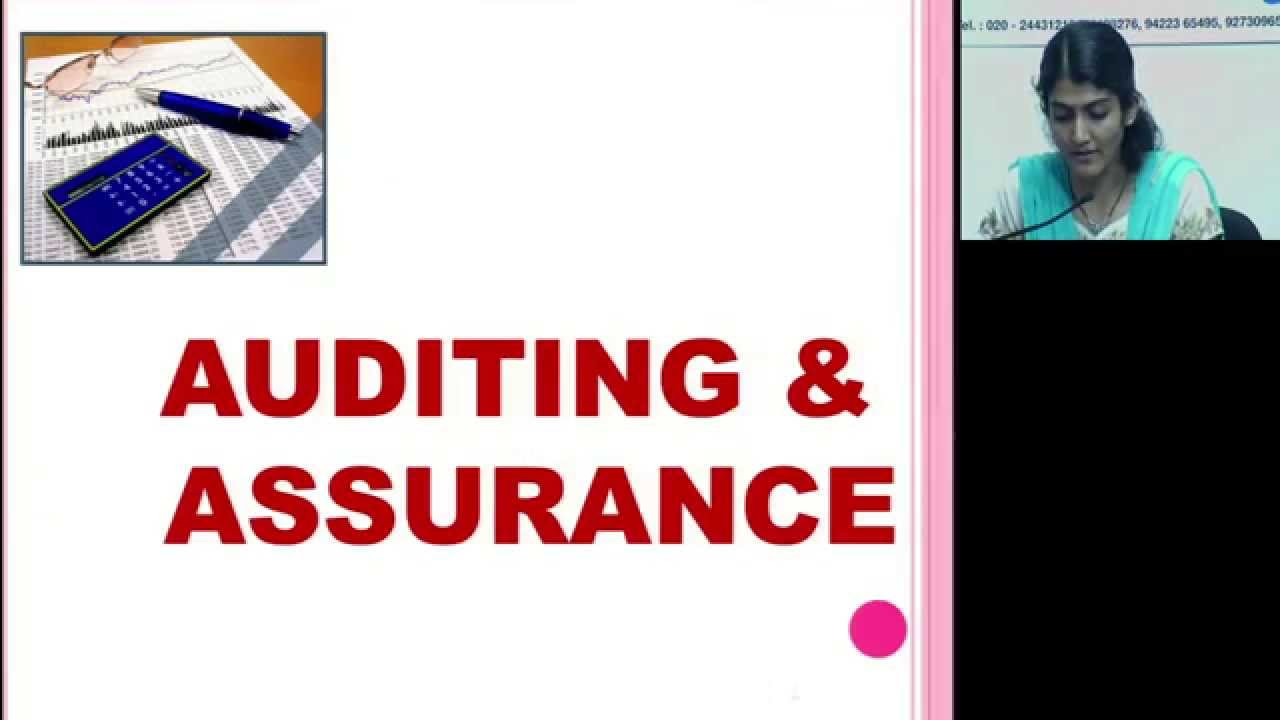 CA IPCC Auditing and Assurance by CA AARTI LAHOTI