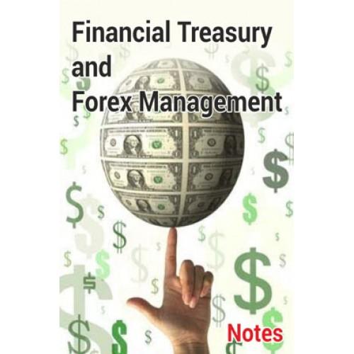 CS Professional Treasury Forex Management by Prof  Rahul Malkan