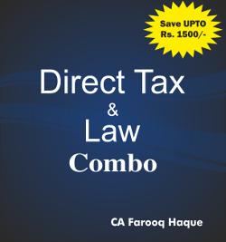 CA Final Combo Pack DT+ Law  Farooq haque
