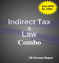 CA Final Combo Pack IDT+Law  Farooq haque