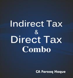 CA Final Combo Pack DT+IDT   Farooq haque
