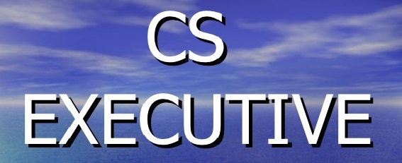 CS Executive Complete package   June 2016