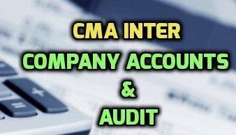 ICWAI | CMA Intermediate Paper 12   Company Accounts by M K Jain