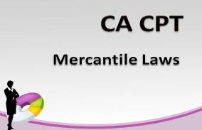 CA Foundation   CA CPT Mercantile Laws CS Ramadevi Iyer and Prof  Anju Bubna