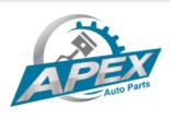 Apex auto parts logo