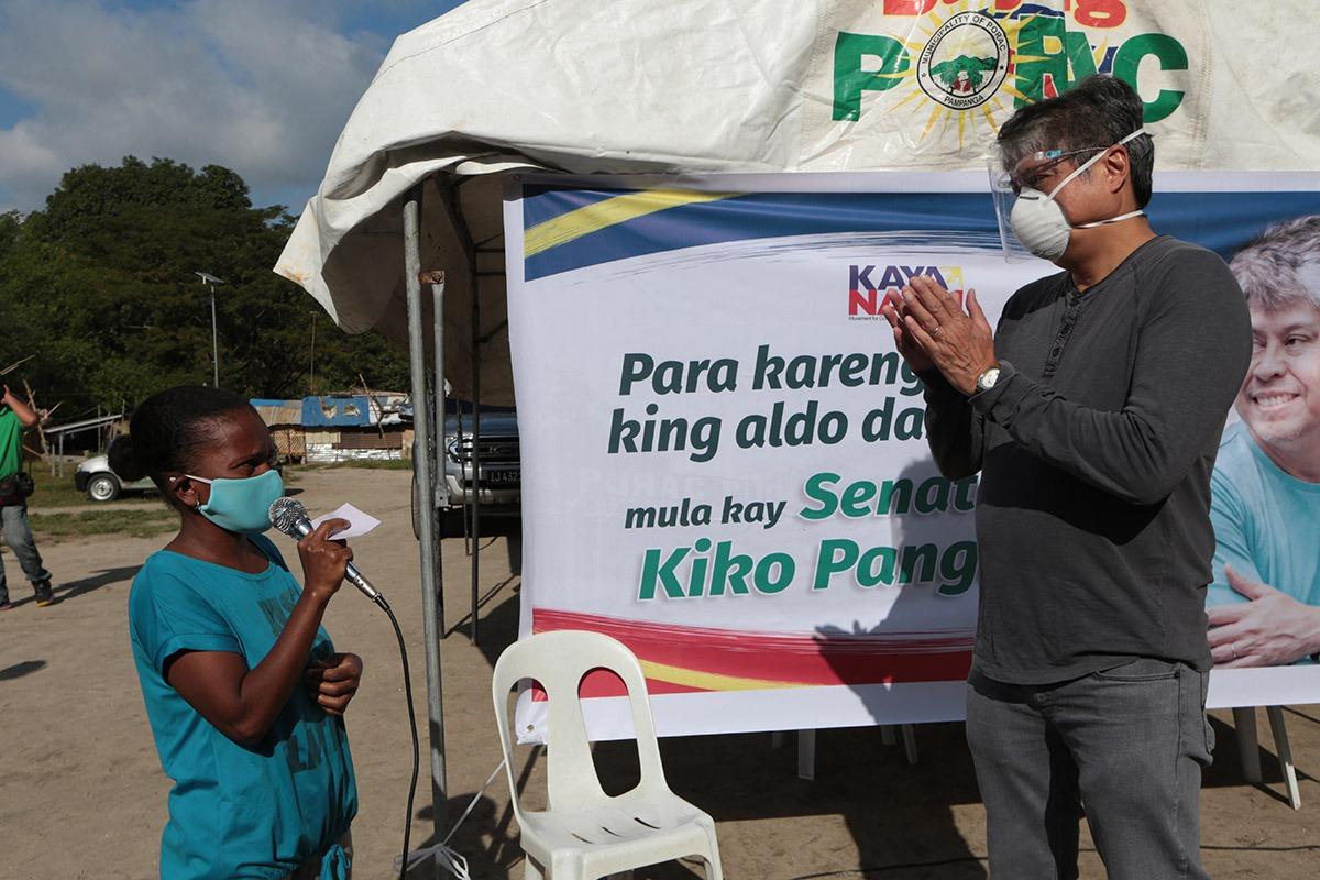 Porac Pampanga Relief Operation