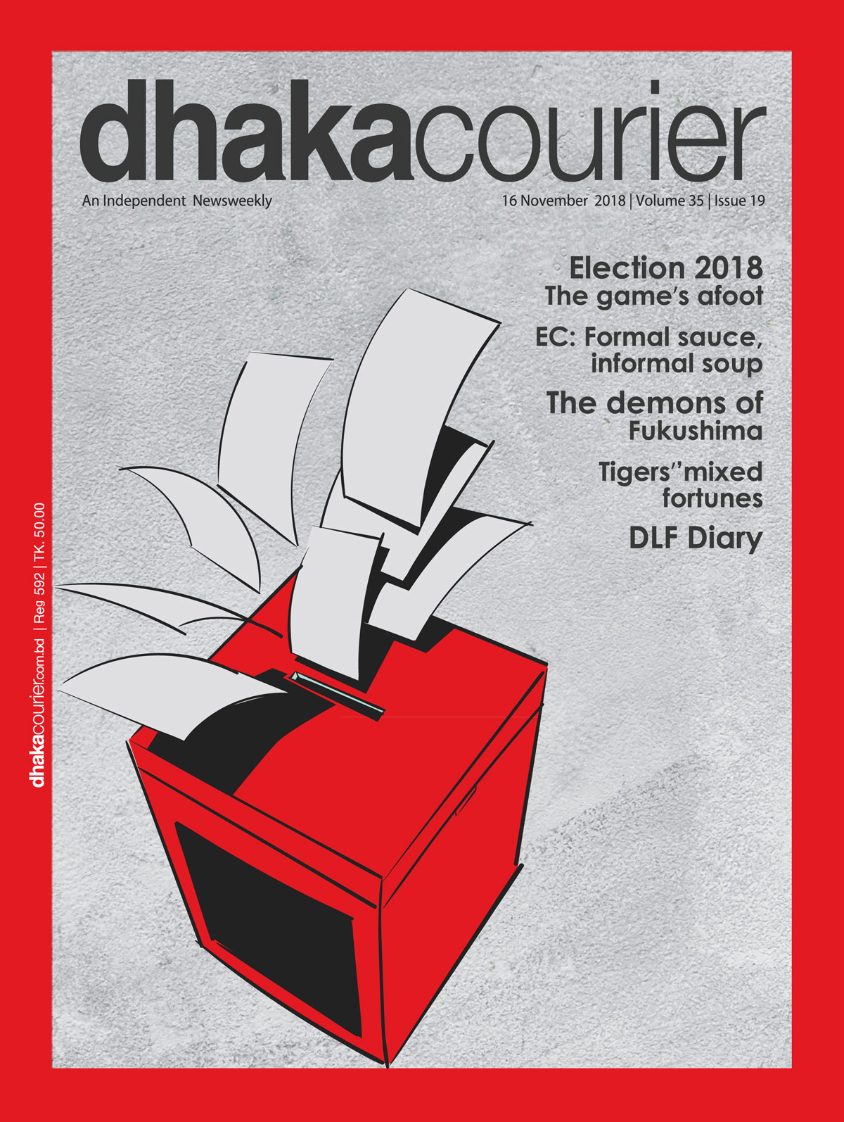DhakaCourier Vol 35 Issue 19