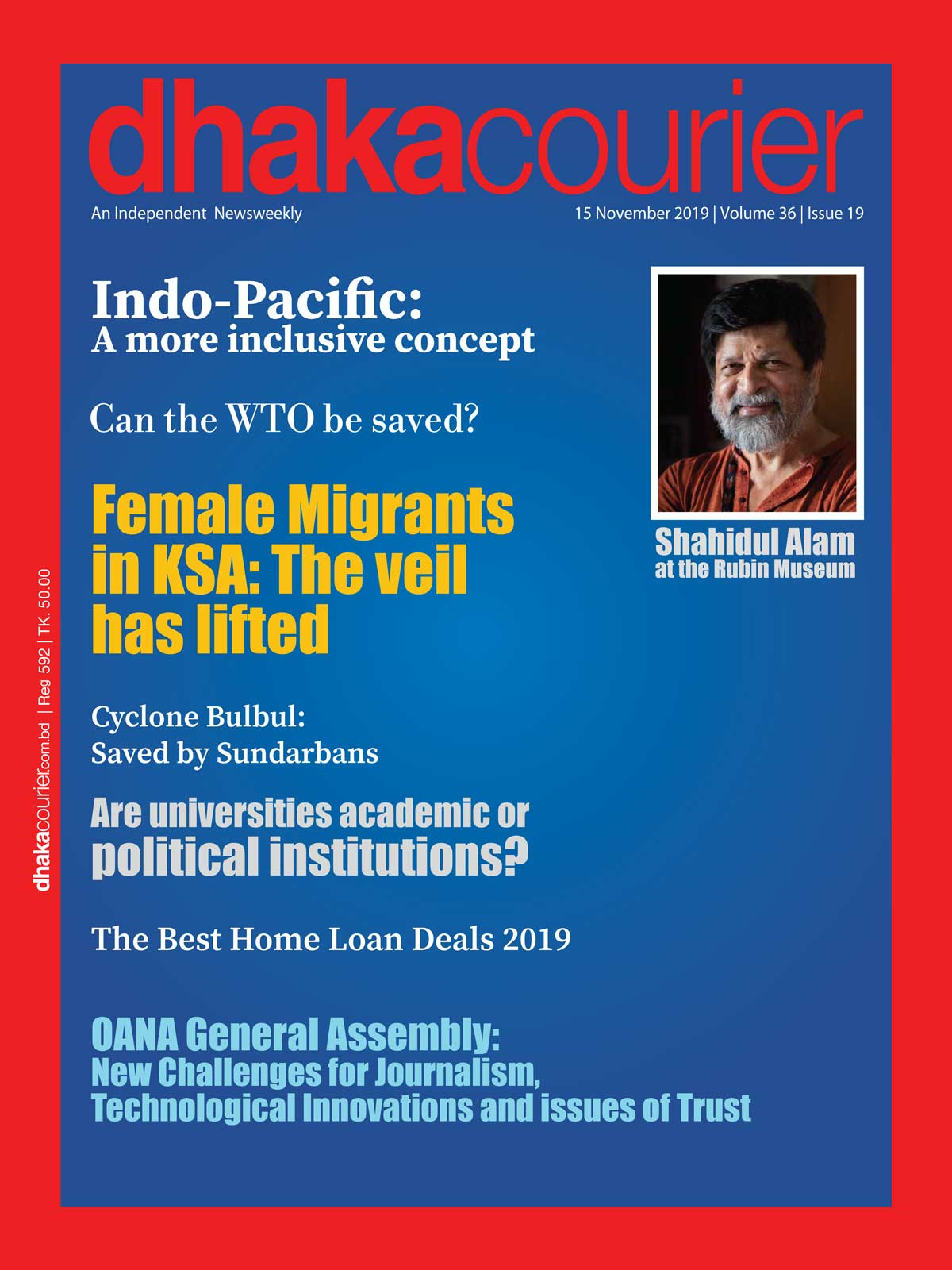 DhakaCourier Vol 36 Issue 19