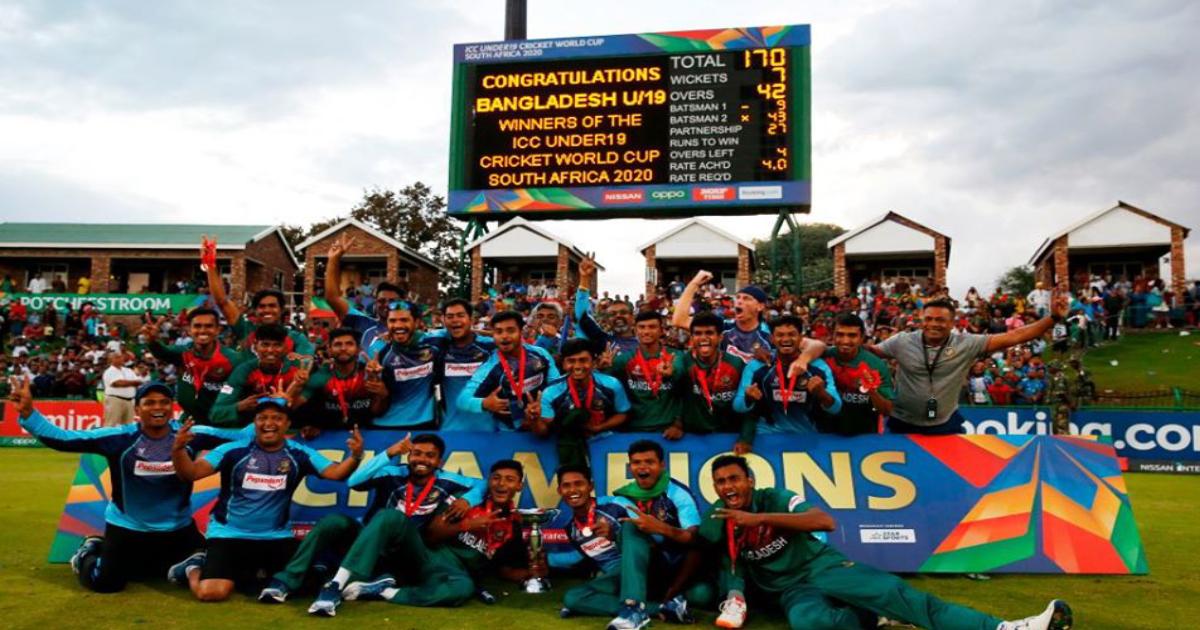 বাংলাদেশ এখন বিশ্ব চ্যাম্পিয়ন!