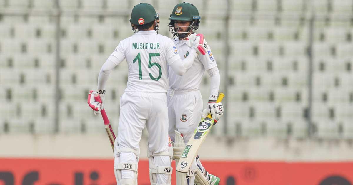 ঢাকা টেস্ট: জিম্বাবুয়ের বিপক্ষে শক্ত অবস্থানে বাংলাদেশ