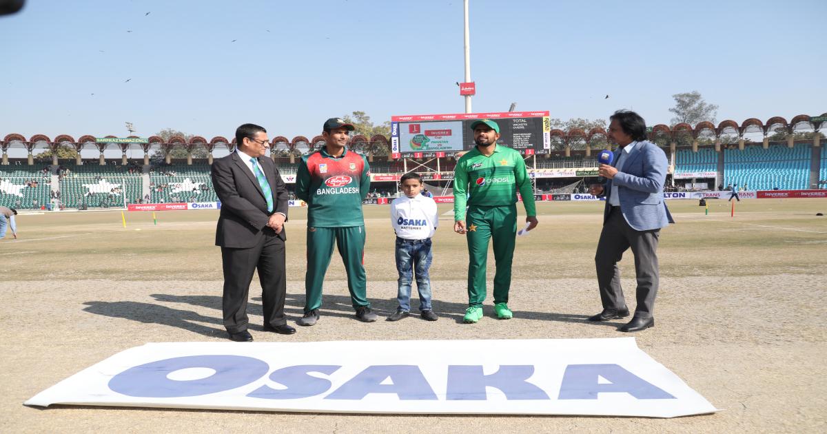 ১ম টি-টোয়েন্টি: পাকিস্তানের বিপক্ষে টস জিতে ব্যাট করছে বাংলাদেশ