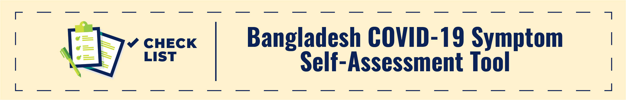 Bangladesh COVID-19 Symptom Self-Assessment Tool