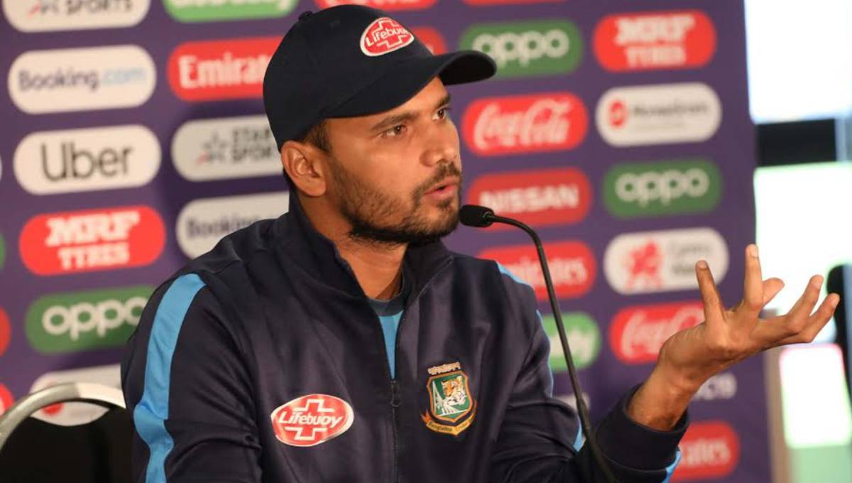 Defence is perhaps the best attack against England: Mashrafe